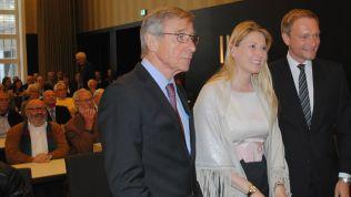Wolfgang Clement, Lencke Steiner und Christian Lindner