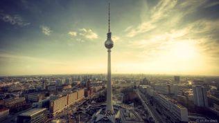 Alexanderplatz Skyline von Berlin