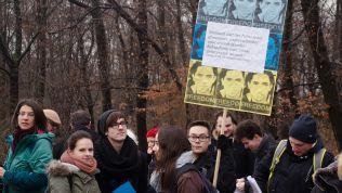 Demonstration für Freilassung von Raif Badawi