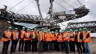 FDP-Fraktion besucht Tagebau Garzweiler