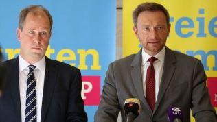 Joachim Stamp und Christian Lindner