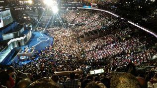 Bild vom Nominierungsparteitag der US-Demokraten