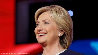 Hillary Clinton. Bild: Joseph Sohm / Shutterstock.com