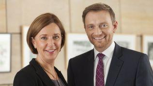 Yvonne Gebauer und Christian Lindner