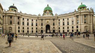 Die Hofburg in Wien, der Amtssitz des künftigen Präsidenten