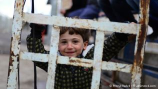 Syrisches Kind. Bild: Procyk Radek / Shutterstock.com