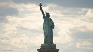 Die Freiheitsstatue in New York. Bild: Caitlin Hardee
