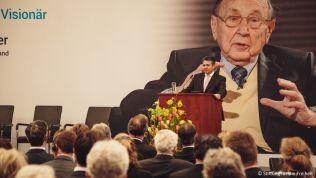 Sigmar Gabriel würdigt Hans-Dietrich Genscher. Bild: Stiftung für die Freiheit