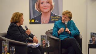 Sabine Leutheusser-Schnarrenberger und Angela Merkel (Foto: Friedrich-Naumann-Stiftung für die Freiheit)