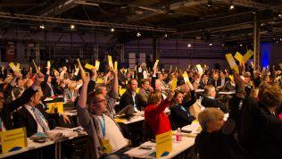 Abstimmung, Bundesparteitag, FDP