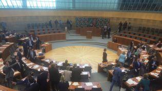Das Plenum im NRW-Landtag kurz vor der konstituierenden Sitzung