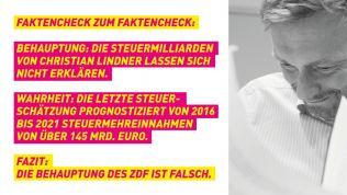 Die ZDF-Behauptungen weisen die Freien Demokraten zurück