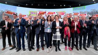 Wahlkampf mit Luftballons