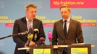 Christof Rasche und Christian Lindner