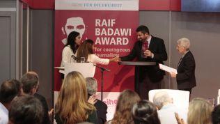 Preisverleihung Raif Badawi Award