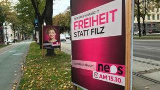 NEOS-Wahlkampf