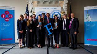 """Start des ersten """"Transatlantischen Freiheitsforums"""". Bild: Stiftung für die Freiheit"""