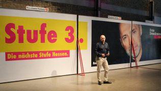 René Rock stellt die Kampagne der FDP Hessen zur Landtagswahl vor