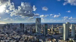 Die israelische Großstadt Tel Aviv