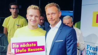 Christian Lindner wirbt für die #NächsteStufe Hessen