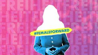 Kampagnenmotiv Female Forward