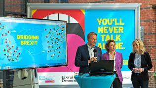 Christian Lindner, Nicola Beer und Linda Teuteberg