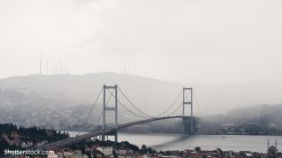 Bosporusbrücke, Istanbul, Türkei