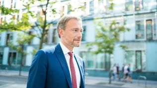 FDP-Chef, Christian Lindner