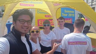 FDP Sachsen, Sommertour