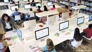 Schule, Computer, Digitalpakt, Bildung, Digitalisierung