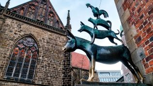 Bremer Stadtmusikanten, Bremen, Hansestadt
