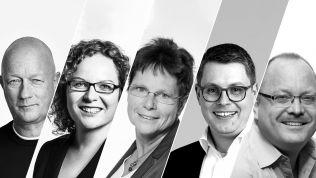 Franziska Baum, Ute Bergner, Robert-Martin Montag, Thomas L.Kemmerich und Dirk Bergner