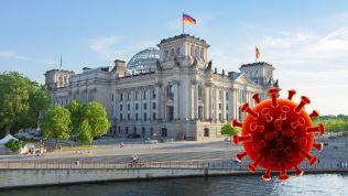Bundestag, Virus