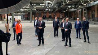 Ein Panoramblick auf das Setting des FDP-Bundesparteitages
