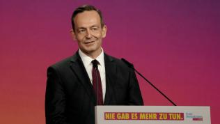 Volker Wissing wirbt auf dem Bundesparteitag für eine Chancengesellschaft