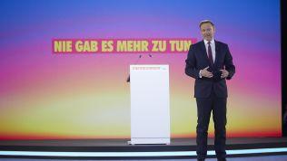 Christian Lindner auf dem Bundesparteitag FDP