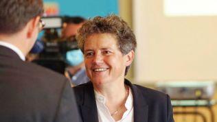 Lydia Hüskens auf dem Landesparteitag der FDP Sachsen-Anhalt