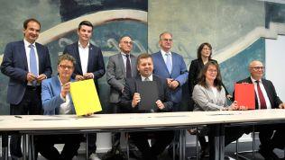 Sachsen-Anhalt: Koalitionsvertrag wurde von CDU, SPD und FDP unterschrieben