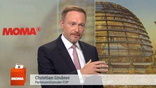 Christian Lindner im ARD-Morgenmagazin