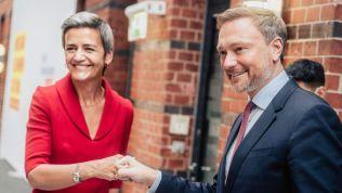 FDP im Austausch mit Vestager