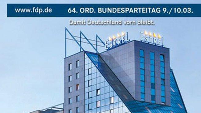 64. Ordentlichen Bundesparteitag im Berliner Estrel Hotel