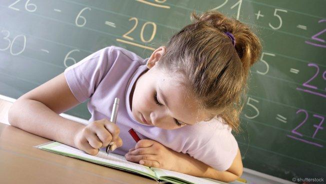 Kind beim Lernen (Bild: shutterstock)