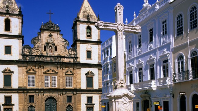 Kirche Pelourinho Piazza im Salvador tun Bahia in Brasilien