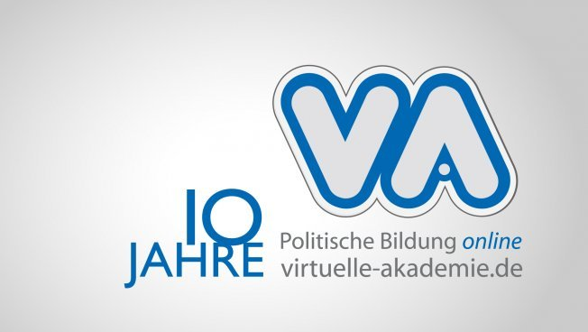 Logo: 10 Jahre Virtuelle Akademie
