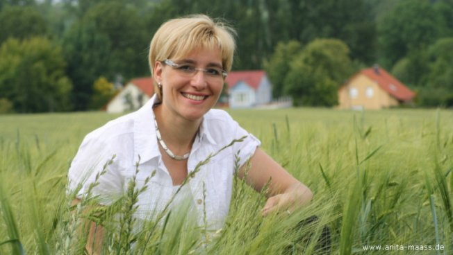 Anita Maaß. Bild: www.anita-maass.de