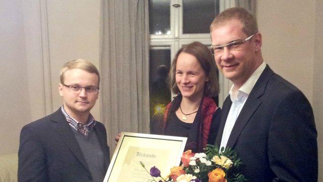 Jessa, Hansen und Büttner