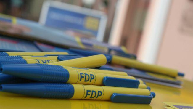 FDP-Kugelschreiber