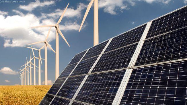 Solaranlage, Windräder