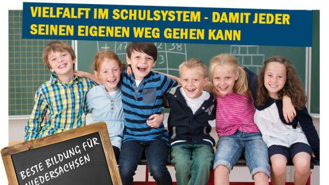 Die Liberalen setzen sich für ein starkes, vielfältiges Bildungssystem ein.