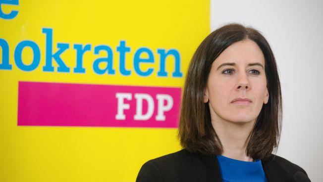 Katja Suding in Berlin
